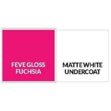 Gloss Fuchsia  Aluminum Sheet Plate 1.6mmThick 5052 H32 1220*2440mm