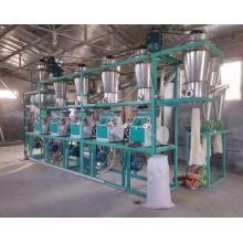 Overhead automatic wheat flour milling machine