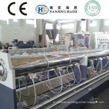 Capítulo SJ solo tornillo extrusora pelletizing reciclado máquina POM/animal doméstico/ABS/PC