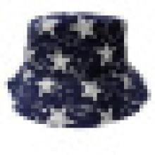 Chapeau à godet avec tissu étoilé (BT044)