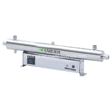 Chunke Stainless Steel UV Sterilizer for Water Treatment Filter Ck-UV5t