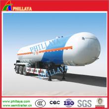 Tri-Axles 56000liters LKW-schleppender Tanker-LPG-Gas-Tank-halb Anhänger