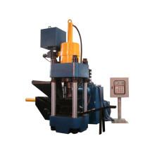 Briquetadora de fábrica hidráulica para aserrín de metal