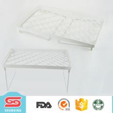 cremalheira de prato plástica a mais útil para o organizador de secagem do suporte de cozinha