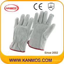 Корова Сплит Персональные драйверы для промышленной безопасности Кожаные перчатки (11204)