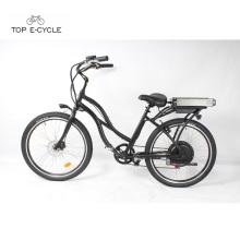 Chinese golden manufacturing factory cheap electric beach cruiser bike