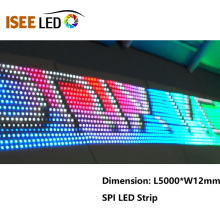 144Pixels на метр пикселей светодиодные полосы Лампа