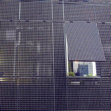 Facades Building Grid Steel
