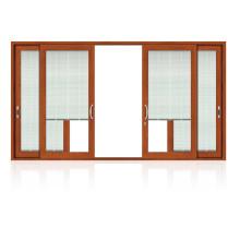 Feelingtop Swing Alumunium Wood Shutter Window (FT-aluminum wood window)