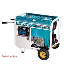 Pressão aberta do quadro 5kw dos geradores diesel de Bn5800dce / B espirrada