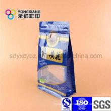 Standing Snack Food Plastic Bag with Zipper