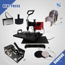 Máquina de imprensa de calor multiuso multifunções de 29x38cm 8 in1