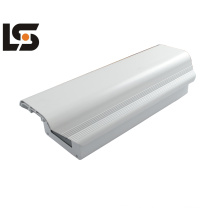 Diecasted aluminium alloy shell with Pressure - casted formation, compact structure and aesthetic appearance