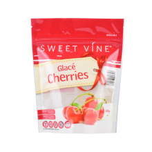 Dry Freeze-Dried Meat Printing Plastic Pet Dog Treats Cat Snacks Stand up Zip Lock Kraft Paper Bags with Window