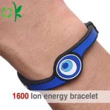 Sports Custom Health Energy Silicone Negative Ion Wriststrap