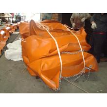 Rubber Oil Boom, Orange PVC Oil Boom