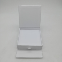 Custom High Gloss White Cardboard Box with Drawer