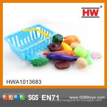 Hot Sale plástico fingir jogar legumes e frutas brinquedos