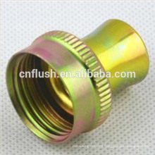 OEM precision machining turned parts factory galvanized coupling