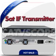 Transmetteur et récepteur de fibre optique à bande et satellite CATV L