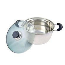 ChaoZhou stainless steel Korean soup pot