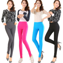 Fashion Women Color Cotton Skinny Legging (SR8209)