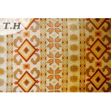 with a Pattern of Symmetry, Yellow Chenille Jacquard Sofa Cloth (FTH31715)