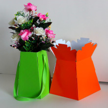 Shik Gifts Gold Flower Living Vase Flower Box