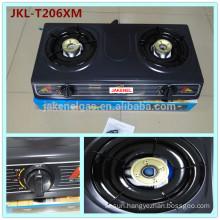 teflon coated 2 burner gas cooker stove