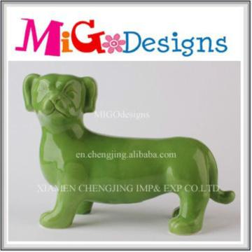 Color OEM Welcome Ceramic Animal Coin Box para coleção