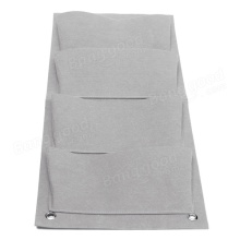 Planting a pocket Outdoor Fabric Wall Hanging Planter Grow Bags