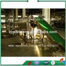 Ligne de traitement de congélation Ligne de production de haricots