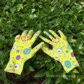 Hohe Qualität 13 Gauge Nitril getaucht Sicherheitshandschuhe Garten Arbeit Hand Handschuhe