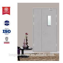 Fuego clasificado puerta de vidrio de diseño puerta precio puerta exterior puerta de la mamá y el hijo
