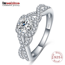 Indonesia Couples Sterling Silver Ring 925 for Wedding (SRI0020-B)