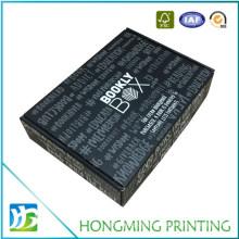 Luxury Corrugated Cardboard Flat Pack Gift Box