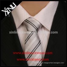 Gravata tecida feita sob encomenda do jacquard do poliéster