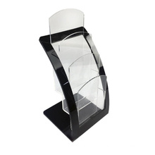 New Design Clear Acrylic 3 Tiers Magazine File Holder Brochure Holder