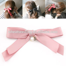 alibaba fashion design alloy bow crystal accessories hair extension clip