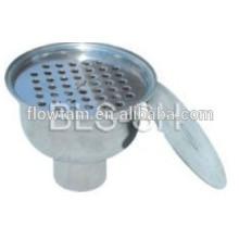 Drain d'égout sanitaire en acier inoxydable