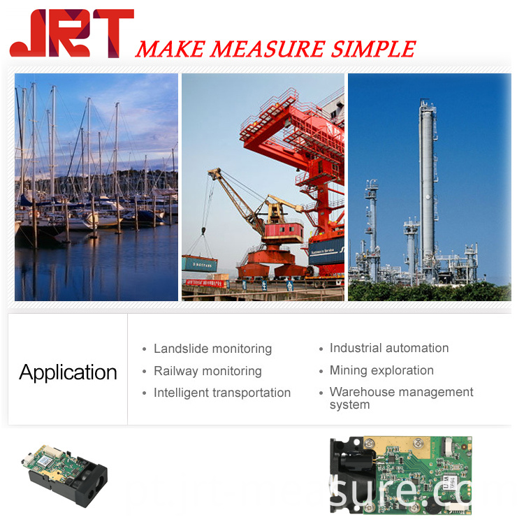 Application of laser measure sensor module