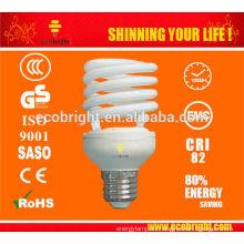 SKD T2 25w espiral medio ahorro lámpara 10000H CE calidad