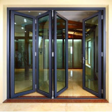 Made in China Wholesale prices for patio aluminum glass folding door