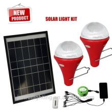 kit inteligente solar para iluminação doméstica, para acampar, para carros