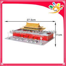 61pcs Puzzle 3D Peking Tiananmen Modell Puzzle Spiel
