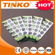 Lithium Manganese Button cell battery CR2032