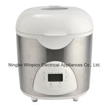 2-Pound programmierbare elektrische Brotbackmaschine, weiß, schwarz oder Edelstahl