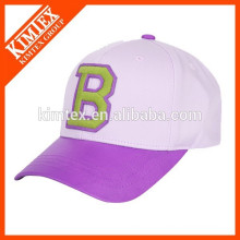 custom baseball cap with logo by Chinese producer