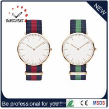 Mode et Vogue Quartz Dw Sport Watch avec étui mince et nylon bande (DC-1006)