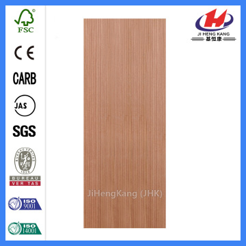 JHK-F01 Flush India Cellar EV Sapelli Door Skin